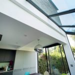 Kitchen Extension with Glass Roof